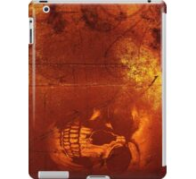 Fire Scull iPad Case/Skin