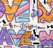 Love Me Or Leave Me Sticker