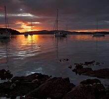 Kettering Sunrise, Tasmania #2 by Chris Cobern