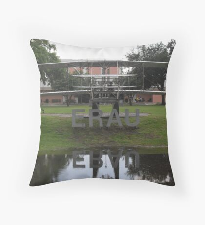 Embry Riddle Aeronautical University Throw Pillow