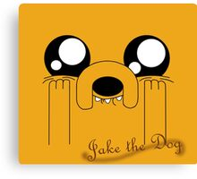Jake the Adorable Canvas Print