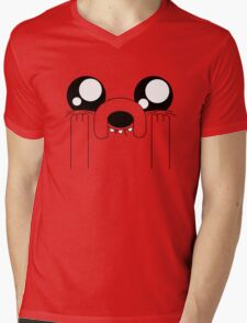 Jake the Adorable Mens V-Neck T-Shirt