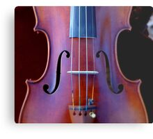 copy of Stradivarius 'Soil' 1714 © 2010 patricia vannucci  Metal Print