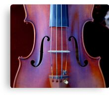 copy of Stradivarius 'Soil' 1714 © 2010 patricia vannucci  Canvas Print