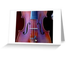 copy of Stradivarius 'Soil' 1714 © 2010 patricia vannucci  Greeting Card