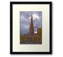 St Patricks Cathedral Melbourne Framed Print