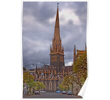 St Patricks Cathedral Melbourne Poster