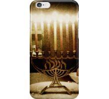 Menorah subtle  iPhone Case/Skin