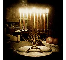 Menorah subtle  Photographic Print
