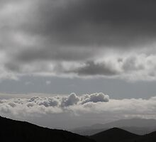 between here and the clouds by fototaker