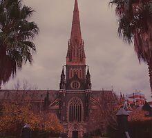 St Patricks Cathedral by Melanie Conroy