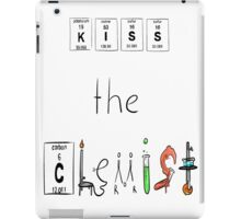 KISS the Chemist iPad Case/Skin