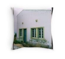 Old police, Burgau Portugal Throw Pillow