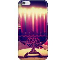 Colorful Menorah iPhone Case/Skin