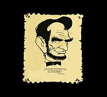 "ABE LINCOLN:  ""I'm voting DEMOCRATIC!"" by Kricket-Kountry"