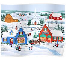 Wintertime in Sugarcreek Poster
