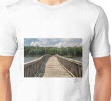 Wooden Bridge to Forest Unisex T-Shirt