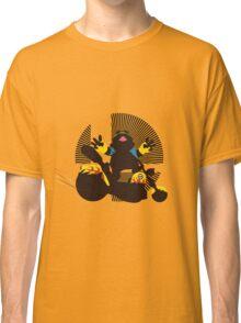 Wario (Riding Bike) - Sunset Shores Classic T-Shirt