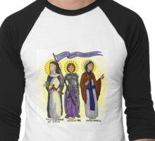 Saints Against Gender Roles Men's Baseball ¾ T-Shirt