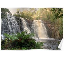 Dip Falls in Tasmania Poster