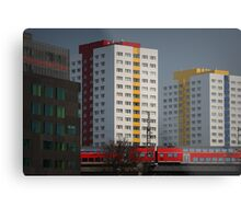 Berlin streetscape Metal Print