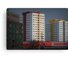 Berlin streetscape Canvas Print