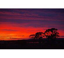 Little Topar Sunrise Photographic Print