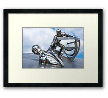 RNLI Memorial Sculpture Framed Print