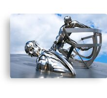 RNLI Memorial Sculpture Canvas Print