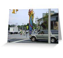 Trenton Transportation center Greeting Card