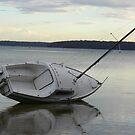 beautifull Jervis Bay - Paradise beach Boat by Marius Brecher