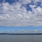 beautifull Jervis Bay - Paradise beach clouds by Marius Brecher