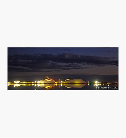 Dampier Salt  Port Hedland, Western Australia Photographic Print