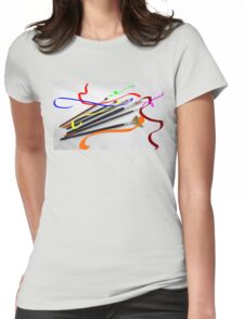 Artist´s brushes and painting Womens Fitted T-Shirt
