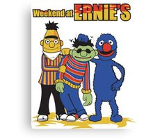 Weekend At Ernie's Canvas Print