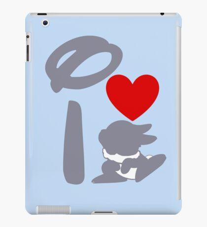 I Heart Thumper (Inverted) iPad Case/Skin