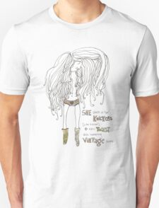 Dances In Her Knickers Unisex T-Shirt