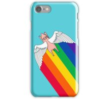 flying bacon iPhone Case/Skin