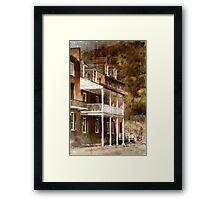 The John Brown Museum Harper's Ferry Framed Print