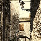 The Lamp in The Alley by Warren. A. Williams
