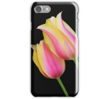 Two Bright Tulips iPhone Case/Skin
