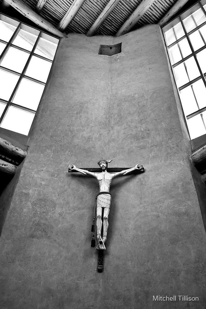 Christ in the Desert Monastery by Mitchell Tillison
