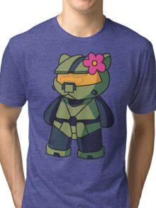 Halo Kitty Tri-blend T-Shirt