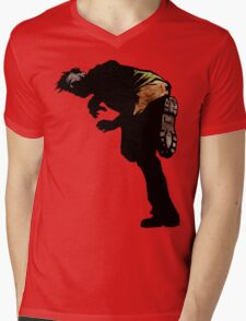 Catch The Zombie! Mens V-Neck T-Shirt
