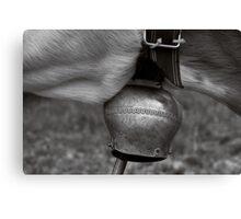 Cattle Bells.  Canvas Print