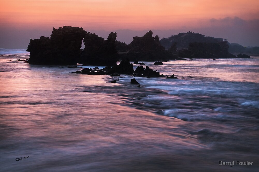 Point Roadknight,Great Ocean Road. by Darryl Fowler