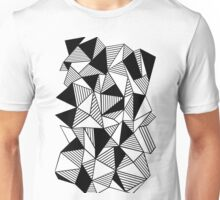Ab Lines with Black Blocks Unisex T-Shirt