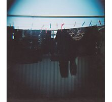 Someone Else's Clothes Line Photographic Print