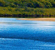 Noosa River towards northshore by Jaxybelle