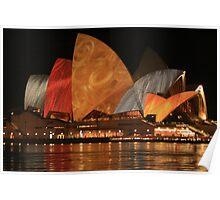 Vivid 2010: Sydney Opera House 002 Poster